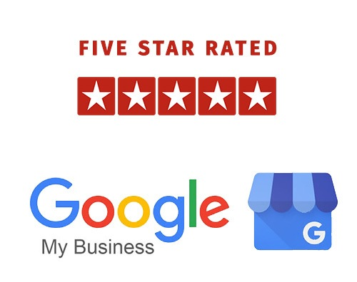 5 Star Rated on Google My Business